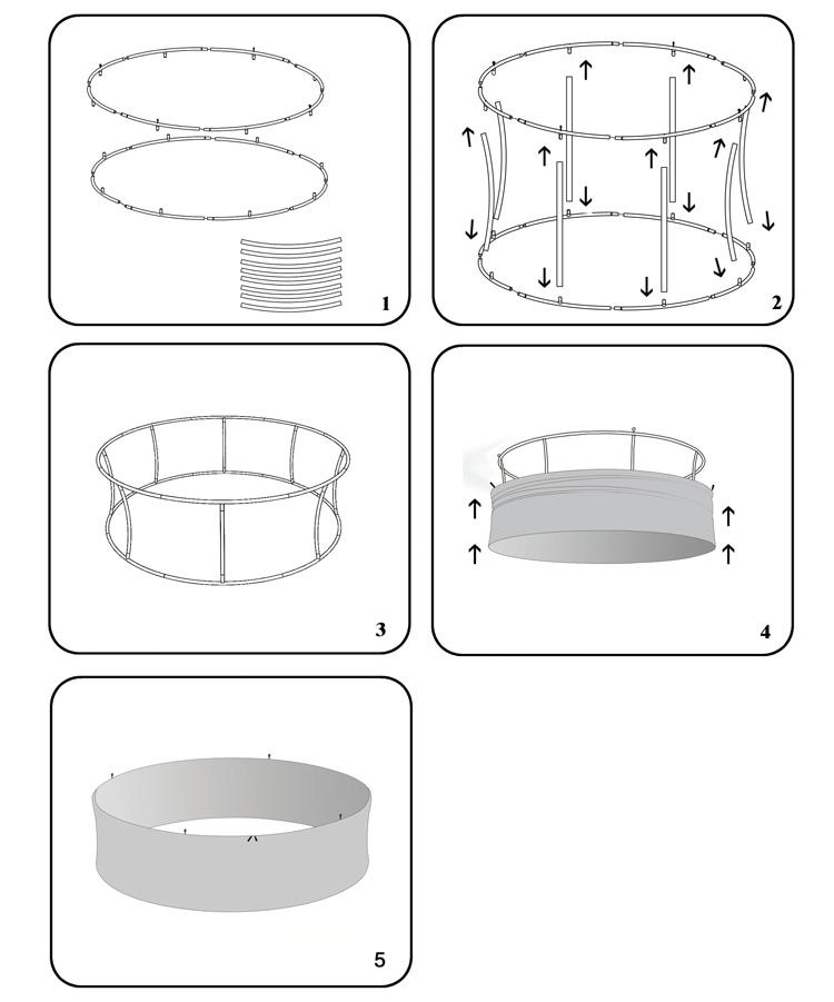 圆管吊顶24D
