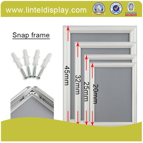 尖角铝合金镜框,铝合金画面框,可悬挂镜框