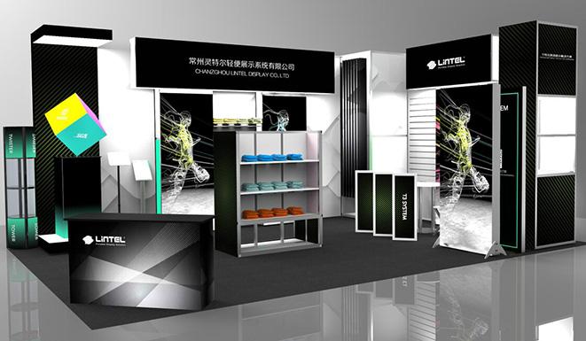 灵特尔参加4月c-star上海零售业设计与设备展