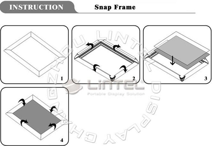 铝合金镜框,圆角镜框,挂画框,多尺寸镜框