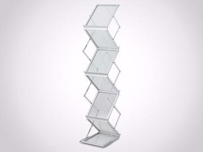 灵特尔铝合金折叠资料架LT-05B